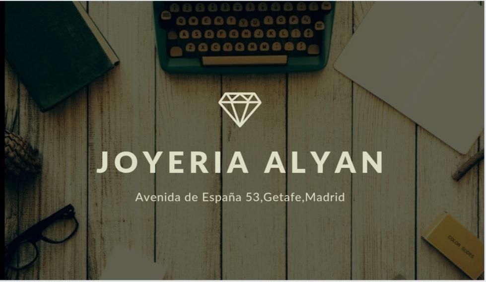 Joyería Alyan